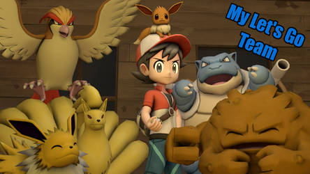 [SFM] - My Let's Go Team by ScoutEevee