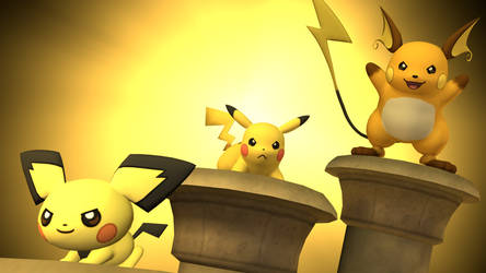 [SFM] - The Pika Pillars by ScoutEevee