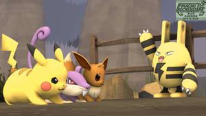 [SFM] - Pikachu's Rocket Start