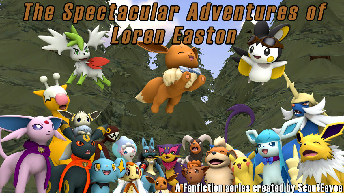 The Spectacular Adventures of Loren Easton - Cover