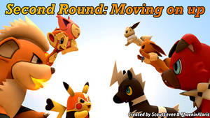 Second Round: Moving on up - Cover