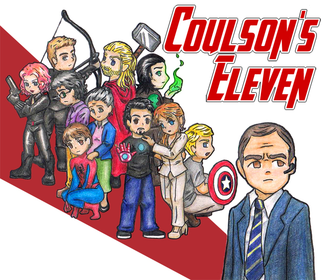 Coulson's Eleven - Chapter 1 - copperbadge - The Avengers