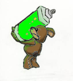 Ed the Evil Teddyz by gamef0x