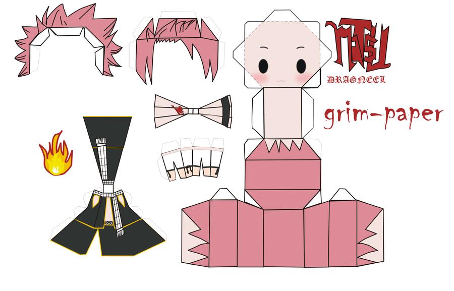 papercraft original templates by Grim-paper on DeviantArt
