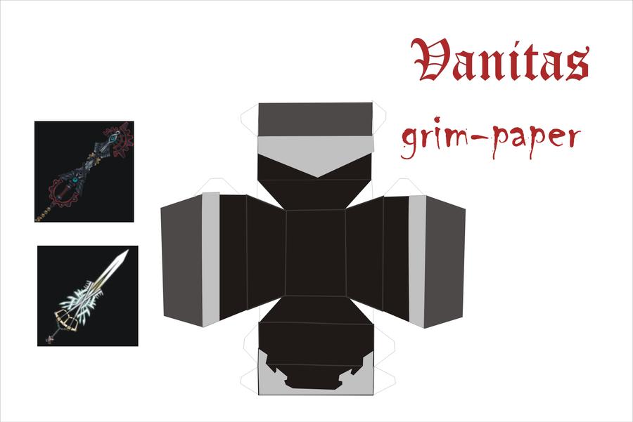 vanitas helmet pattern by Grim-paper