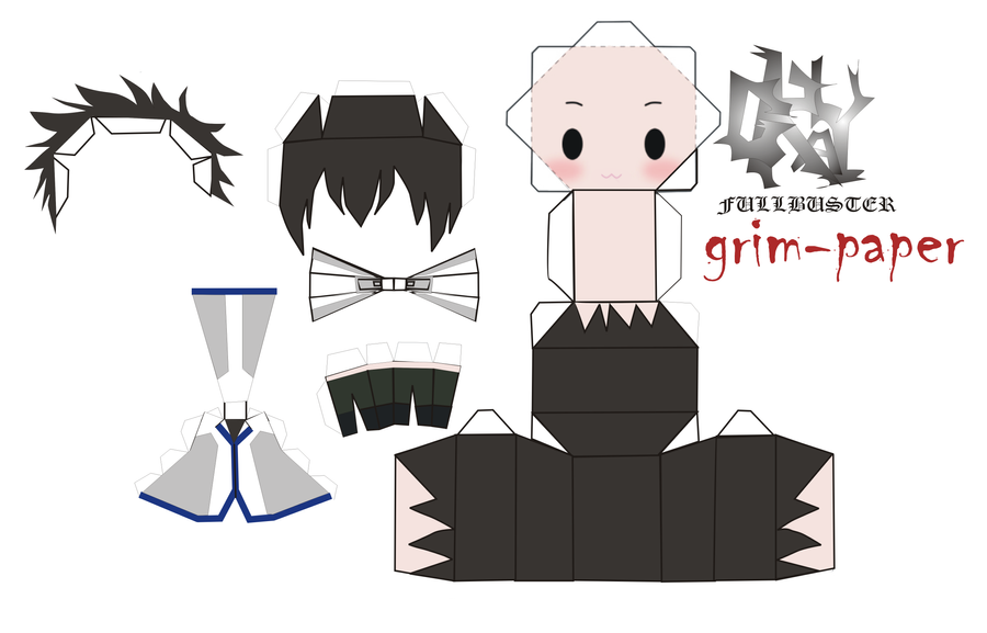 gray fullbuster pattern by Grim-paper on DeviantArt