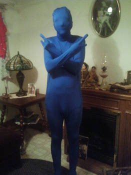 Me in morphsuit form
