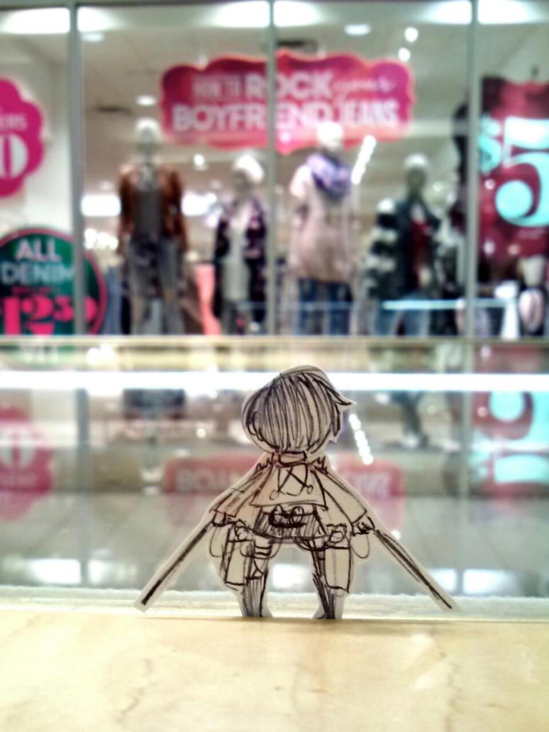 Attack on Shopping by Chiarochi