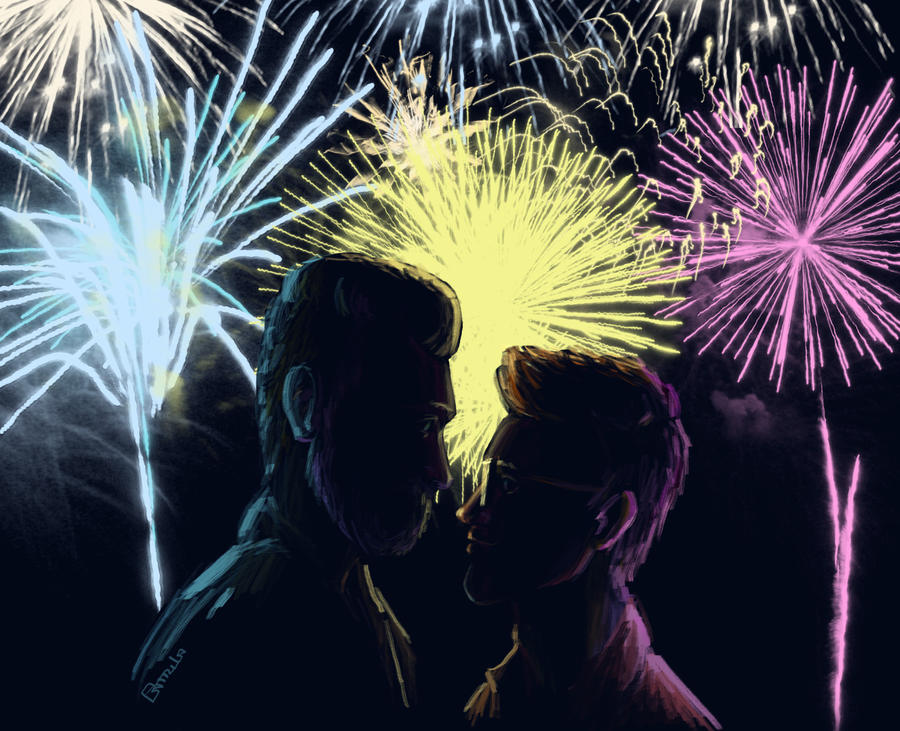 Fireworks by NeonCam
