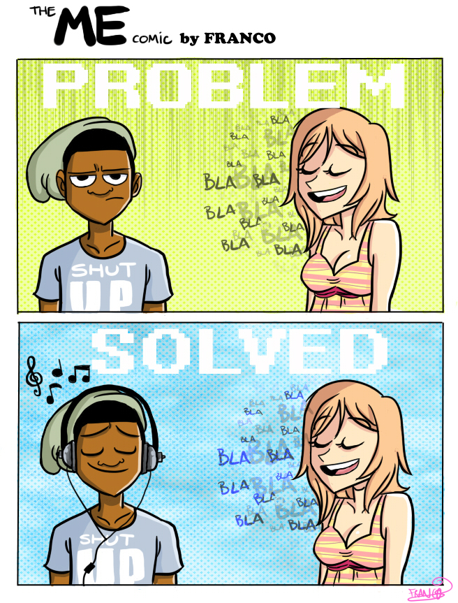 The ME Comic-Problem Solved by chillyfranco