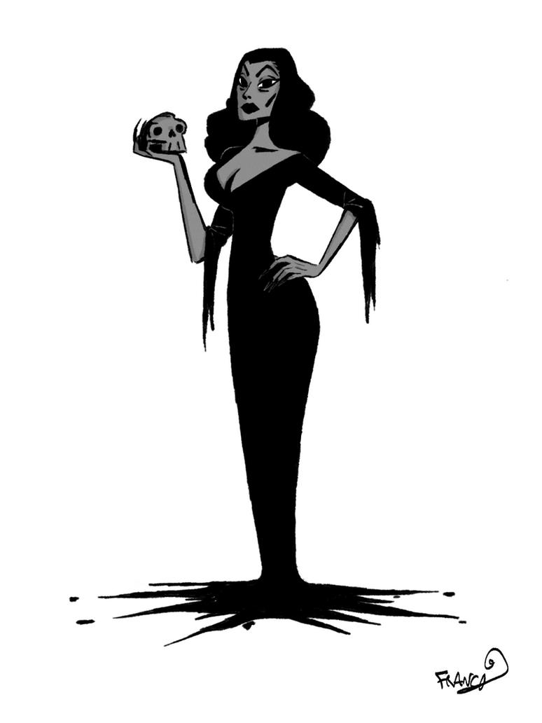 Vampira by chillyfranco