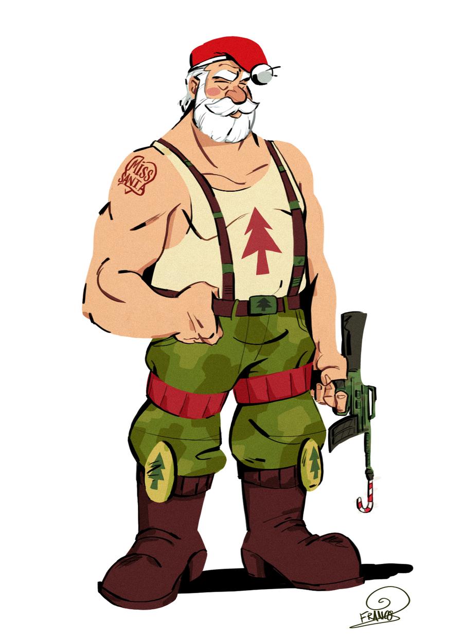 Santa Ass 54