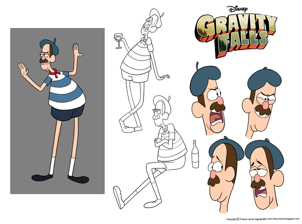 Design Your Cartoon Character : Character design assignment one gravity falls by