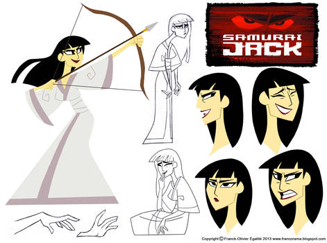 Character Design Assignment Two: Samurai Jack