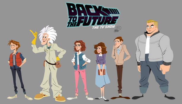 Back To The Future- The Tv Show
