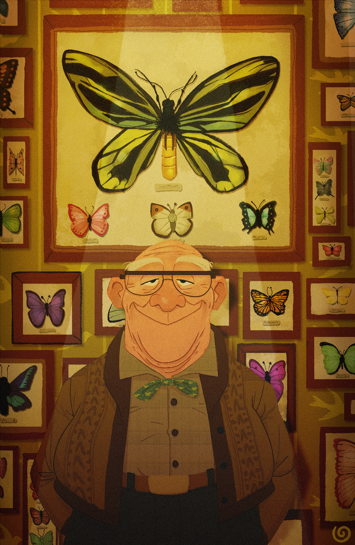 The Butterfly Collection Of Mr. Emmerson by chillyfranco