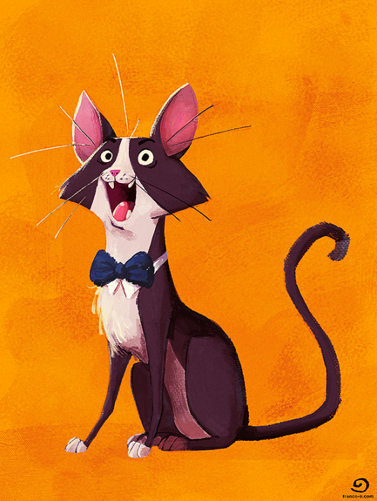 Bowtie Cat by chillyfranco