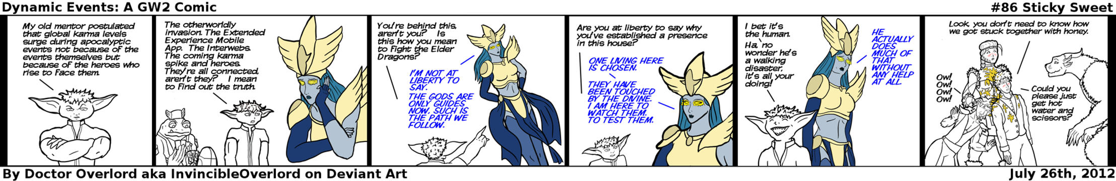 Dynamic Events: A Guild Wars 2 comic #86 by DoctorOverlord