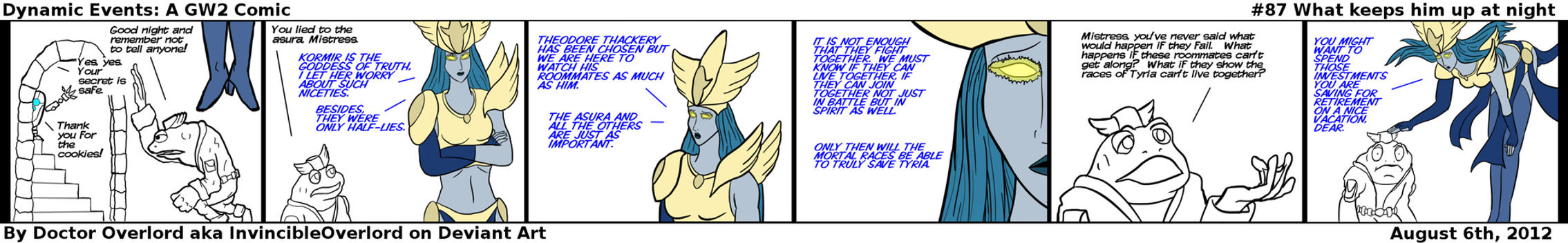 Dynamic Events: A Guild Wars 2 comic #87 by DoctorOverlord