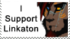 :Stamp: I Support Linkaton by Linka-Bell