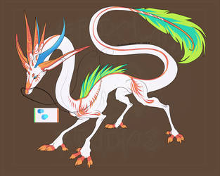 [Auction] - Peppermint Koi Dragon ENDED by LinkaBellARPG