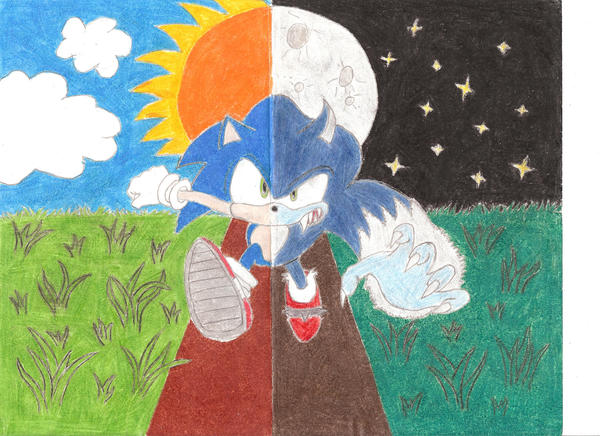 Sonic Unleashed colored by Twilighthedgehog