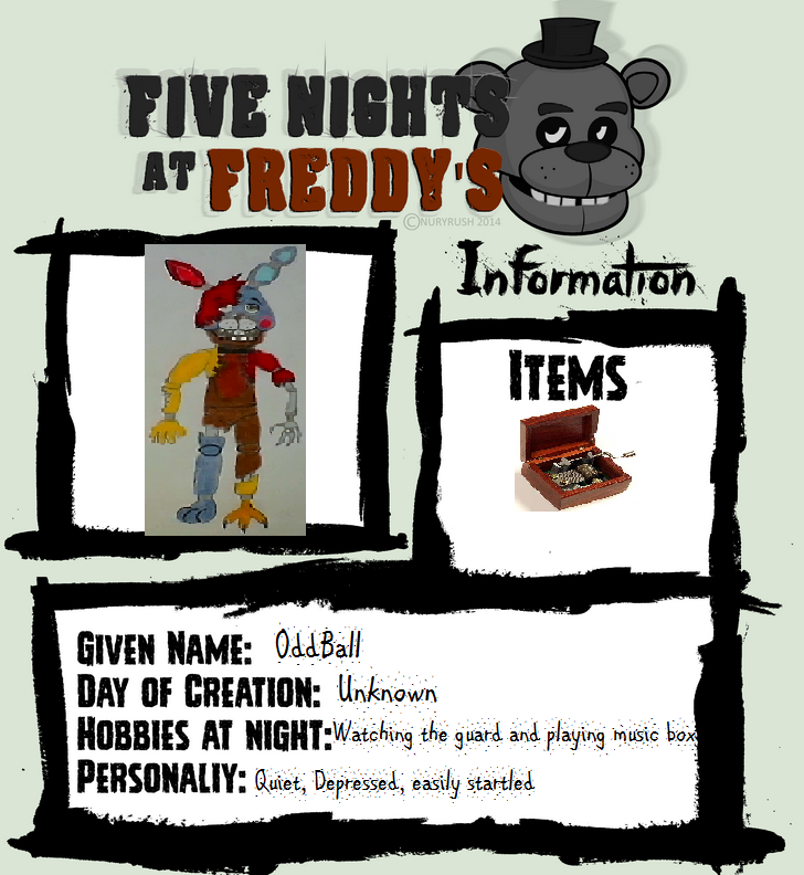 My FNAF Character by Twilighthedgehog