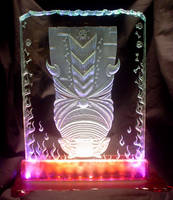 Kepolo Pahu Tiki Glass by HunterGlass