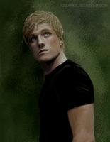 Peeta Mellark Hunger Games by NessaYavi