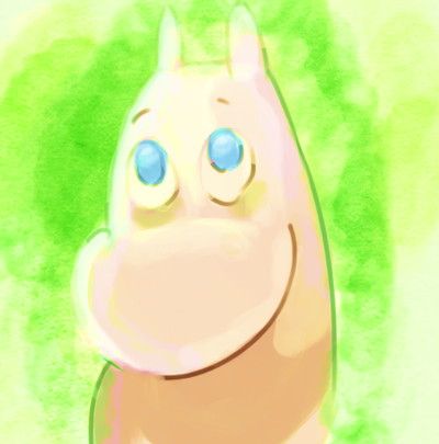 Moomintroll by StarlightCrux