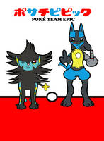 Poke Team Epic (Shine and Curio) by NebulaDreams