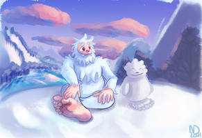 A Yeti's Creation by NebulaDreams