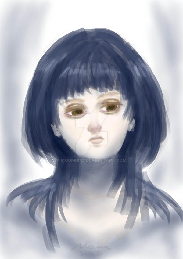 Portrait Practice 1 by MOUMUDO