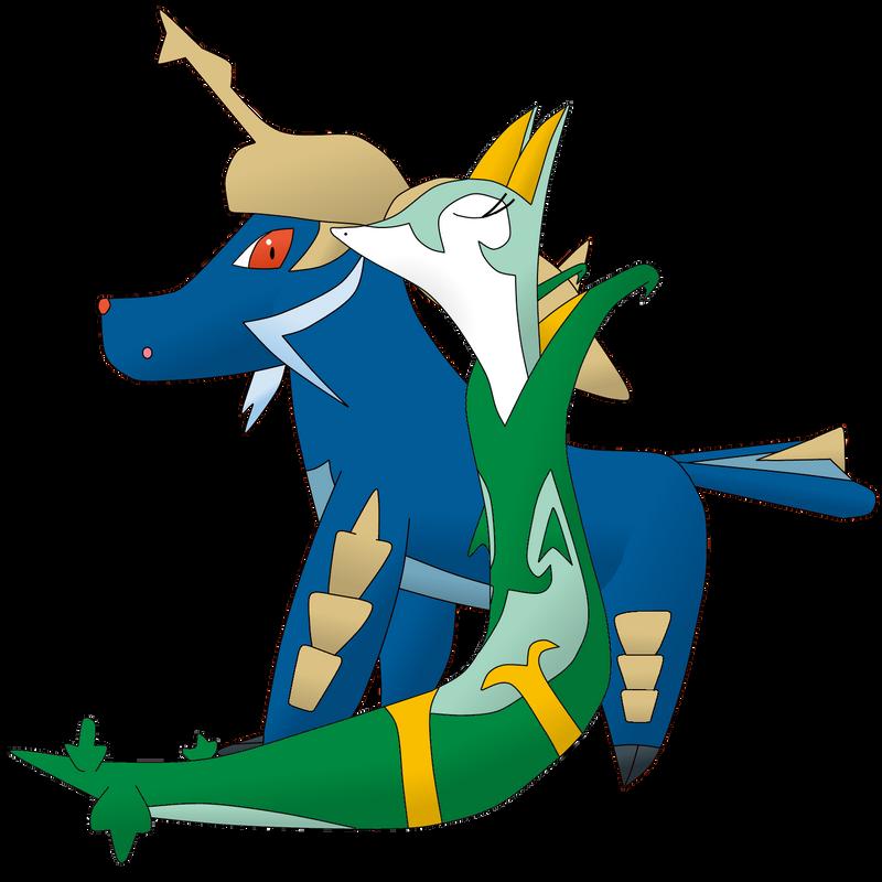 Pokemon Samurott And Serperior Images | Pokemon Images