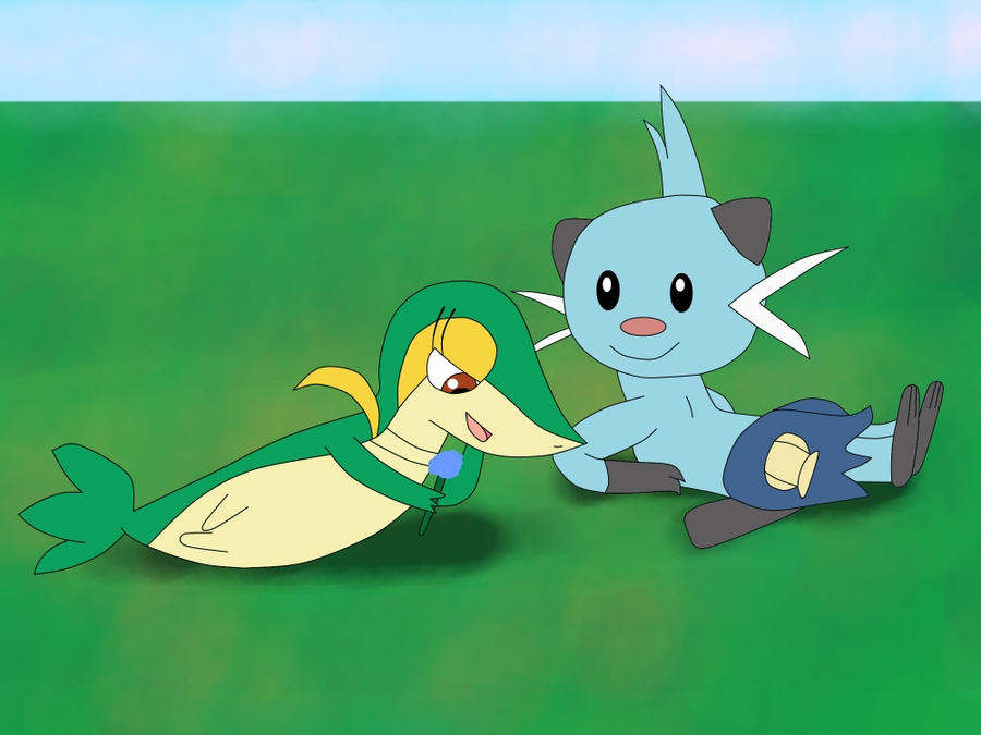 Dewott And Servine Young Love by