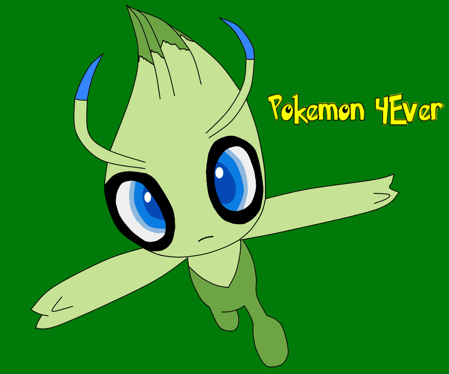 Pokemon Movies Day 4 - Celebi: Voice of the Forest by SkulblakaShurtugal