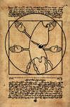 Vitruvian Gerbil