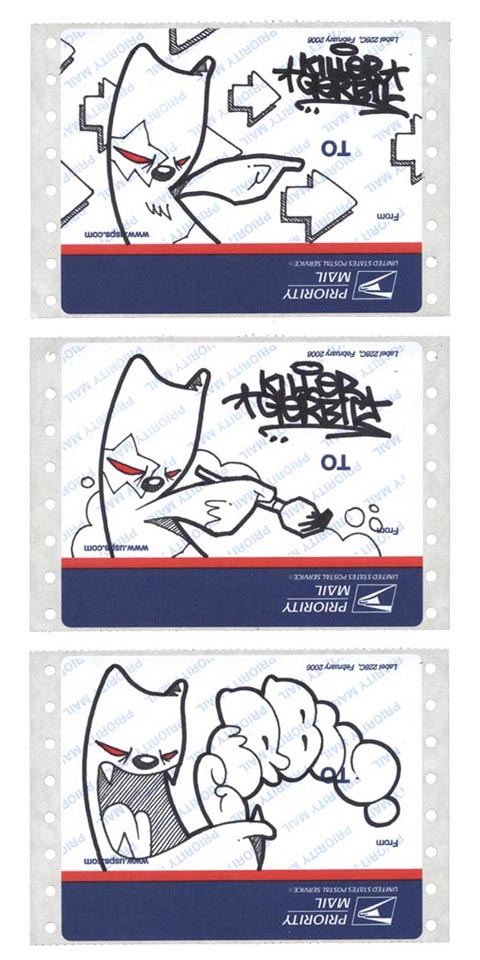 USPS Stickers by thekillergerbil