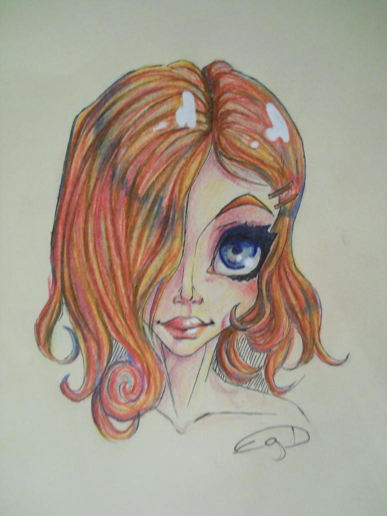 Disney-ish Redhead by EgeDo