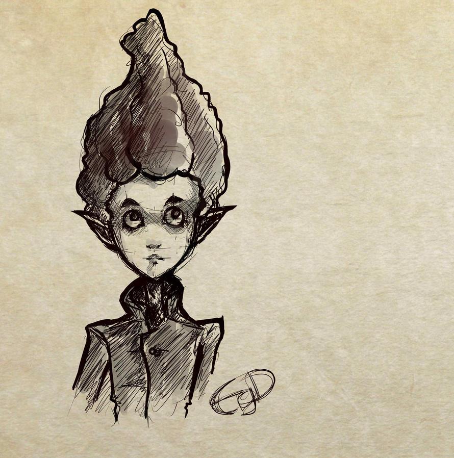 Sketch-Wierdo by EgeDo