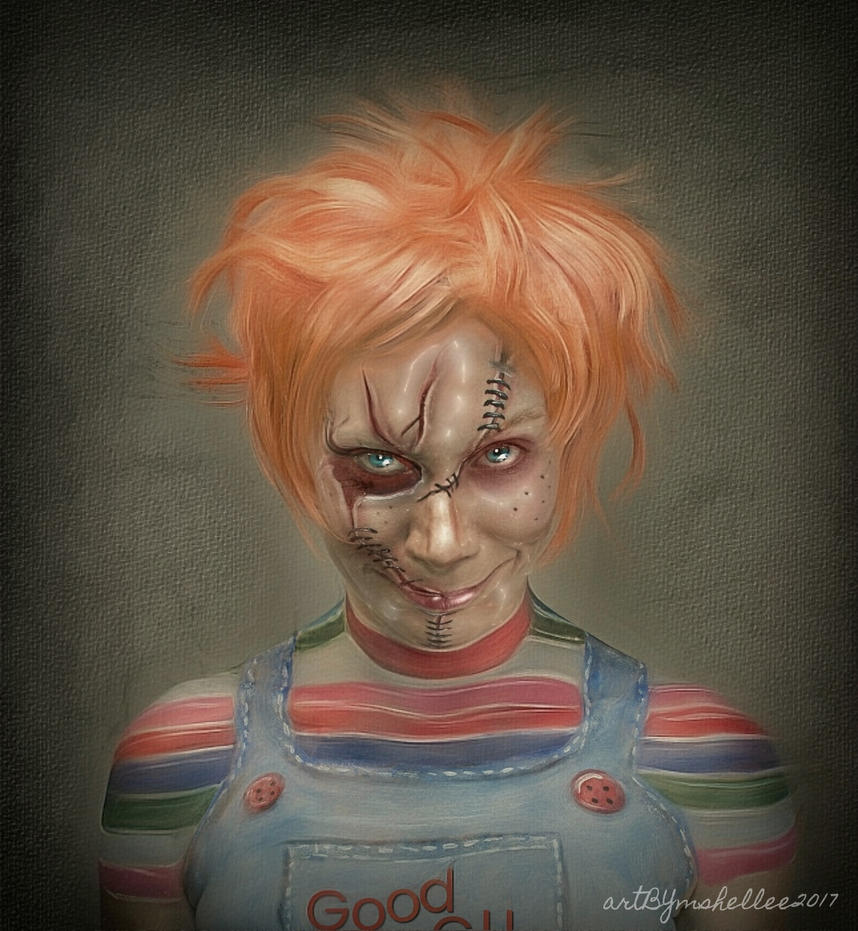 Chucky Wallpapers: Chucky Portrait By Mshellee On DeviantArt