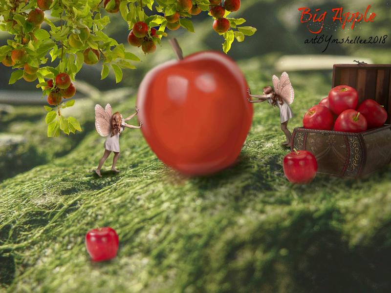 Big Apple by mshellee