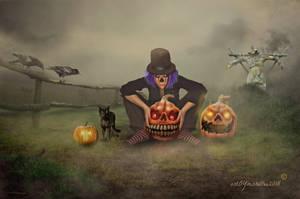 Pumpkins by mshellee
