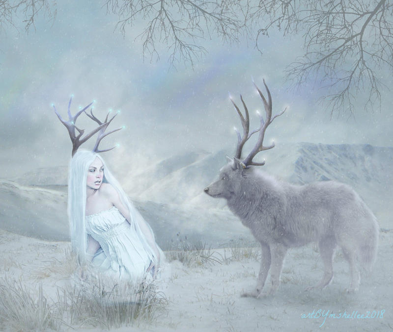 Winter Spirits by mshellee