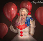 Harley as PennyWise