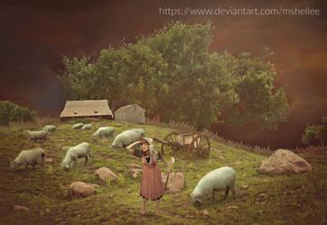 Peep's Farm by mshellee