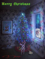 Christmas Night by mshellee