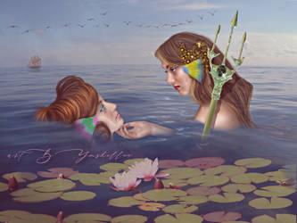 Mermaid's Sorrow by mshellee