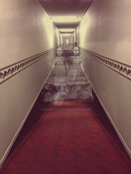 Haunted Hall with Twin Ghosts