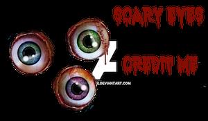 PNG Scary Eyeballs